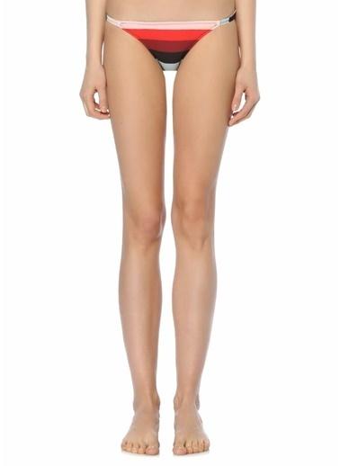 Solid & Striped Bikini Alt Renkli